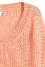Loose-knit jumper - Peach - Ladies | H&M 3