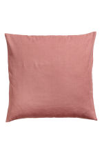Cotton canvas cushion cover - Vintage pink - Home All | H&M CN 1