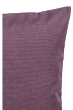 Cotton canvas cushion cover - Purple - Home All | H&M IE 2