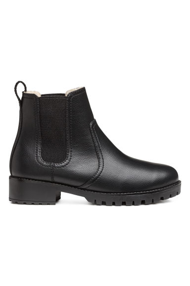 Warm-lined Chelsea boots - Black - Ladies | H&M CN 1