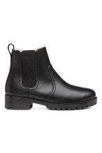 Warm-lined Chelsea boots - Black - Ladies | H&M GB 1