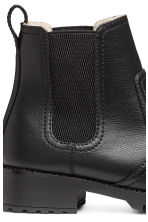 Warm-lined Chelsea boots - Black - Ladies | H&M GB 4