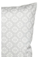 Patterned cushion cover - Light grey - Home All | H&M CA 2