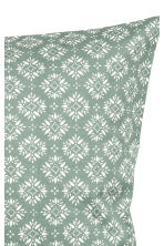 Patterned cushion cover - Moss green - Home All | H&M CN 3