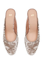 Mules - Light beige - Ladies | H&M 2
