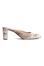 Mules - Light beige - Ladies | H&M CN 1