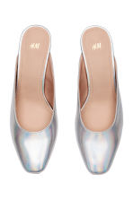 Mules - Silver - Ladies | H&M 2