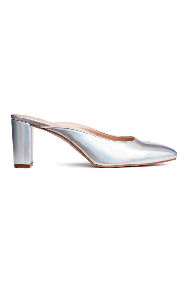 Slip-in pumps - Zilverkleurig - DAMES | H&M NL