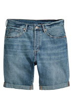 Jeansshort - Denimblauw - HEREN | H&M BE 2
