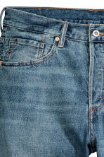 Jeansshort - Denimblauw - HEREN | H&M BE 4