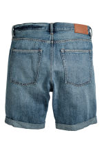 Jeansshort - Denimblauw - HEREN | H&M BE 3