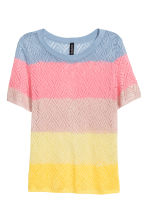 Pointelle top - Multicoloured - Ladies | H&M 2