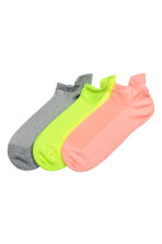 3-pack sports socks - Yellow - Kids | H&M CA 1