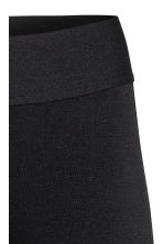 3/4-length sports tights - Dark blue marl -  | H&M IE 4