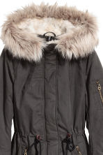 Padded parka - Dark grey -  | H&M 3