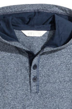 Jersey hooded top - Dark blue marl - Kids | H&M 3