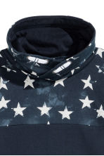 Chimney-collar Sweatshirt - Dark blue - Kids | H&M CA 3
