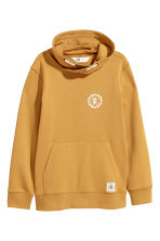 Funnel-collar sweatshirt - Mustard yellow -  | H&M 2