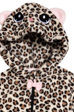 Fleece all-in-one suit - Leopard print - Kids | H&M 3