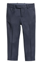 Suit trousers - Dark blue -  | H&M CN 2