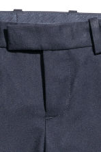Suit trousers - Dark blue -  | H&M CN 4