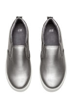 Slip-on trainers - Silver -  | H&M CN 2
