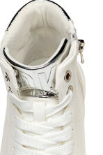 Hi-top trainers - White -  | H&M CA 3