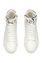 Hi-top trainers - White -  | H&M 2