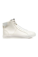 Hi-top trainers - White -  | H&M 1