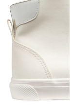 Hi-top trainers - White -  | H&M CA 4