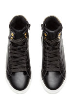 Hi-top trainers - Black -  | H&M 2