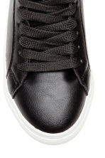 Hi-top trainers - Black -  | H&M 3