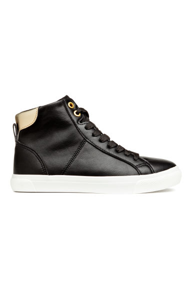 Hi-top trainers - Black -  | H&M 1
