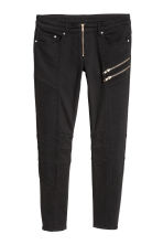 Biker trousers - Black -  | H&M IE 2