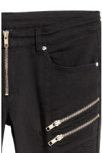 Biker trousers - Black -  | H&M IE 4