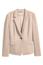 Jersey jacket - Beige marl - Ladies | H&M CN 2