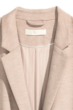 Jersey jacket - Beige marl - Ladies | H&M CN 3