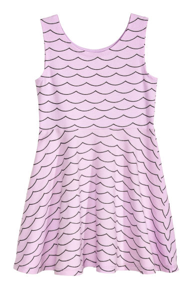 Jersey dress - Light purple -  | H&M 1