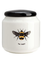 Pot en porcelaine - Blanc/abeille - HOME | H&M BE 1