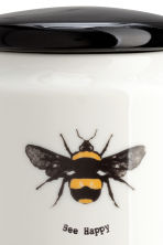 Pot en porcelaine - Blanc/abeille - HOME | H&M BE 2