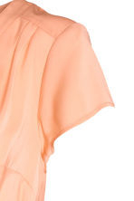 MAMA Blouse with tie belt - Apricot - Ladies | H&M 3
