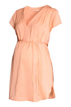 MAMA Blouse with tie belt - Apricot - Ladies | H&M 2