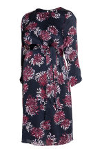 MAMA Patterned dress - Dark blue/Floral - Ladies | H&M 2