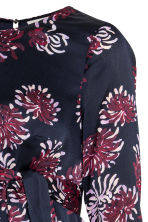 MAMA Patterned dress - Dark blue/Floral - Ladies | H&M 3