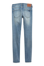 Skinny Low Trashed Jeans - 牛仔蓝 - Ladies | H&M CN 3