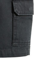 Cargo shorts - Black -  | H&M 3