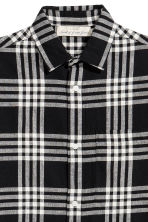 Camicia Regular fit - Nero/quadri - UOMO | H&M IT 3