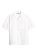 Resort shirt Relaxed fit - White - Men | H&M 2