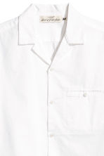 Resort shirt Relaxed fit - White - Men | H&M 3