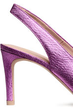 Slingbacks - Pink/Glittery - Ladies | H&M 4
